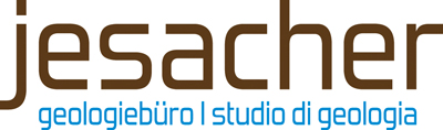 Jesacher Geologiebüro - Studio di geologia Logo